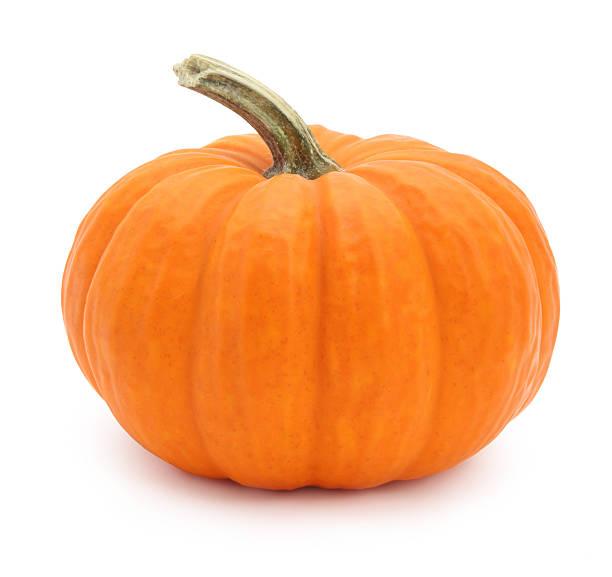 Miniature pumpkin isolated on white
