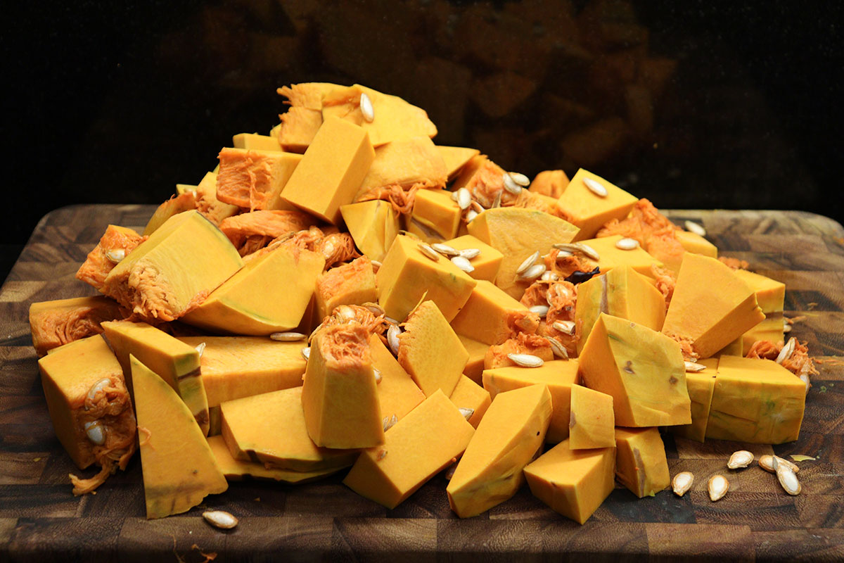 chopped-pumpkin