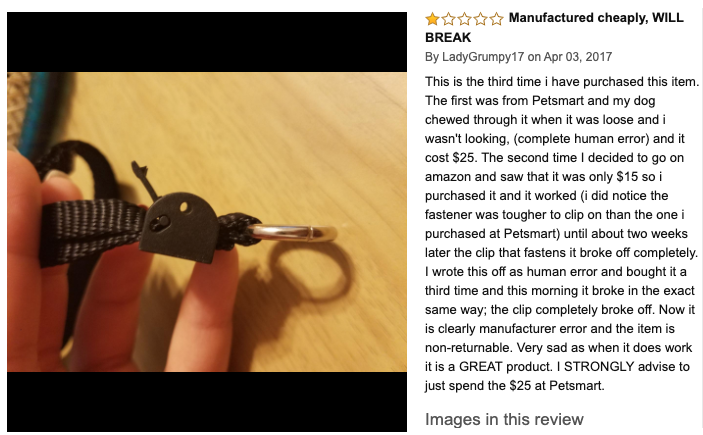 gentle leader dog head halter review