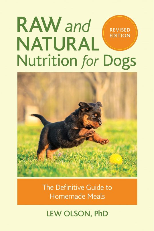 Raw and Natural Feeding for Dogs Cover